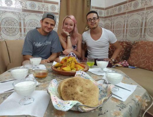 Życie w Maroko - z wizytą w lokalnym domu.