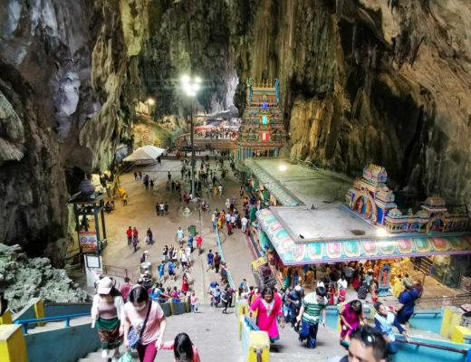 Jaskinie Batu Caves w Malezji
