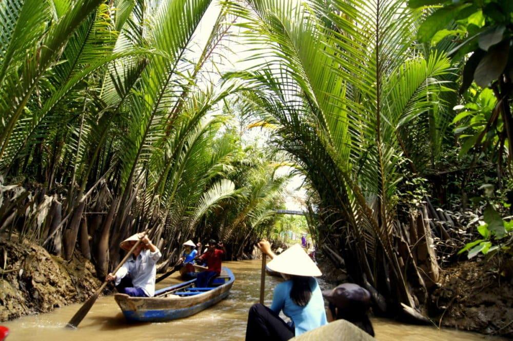 Delta Mekongu w Wietnamie Wycieczka
