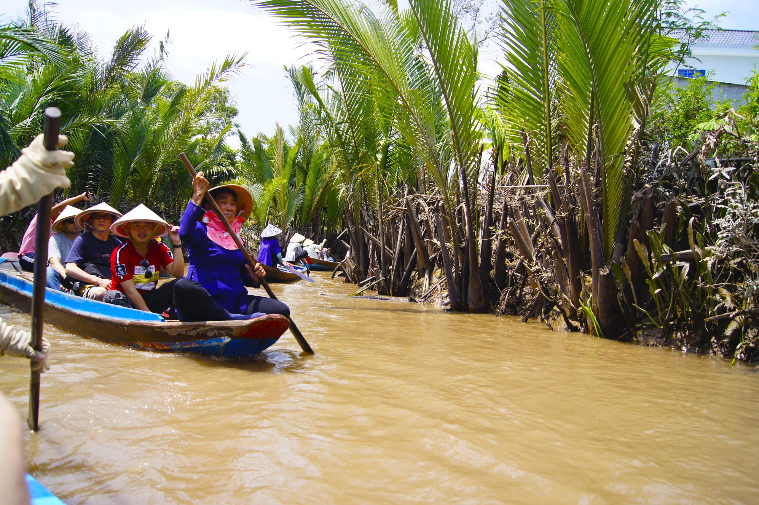 Delta Mekongu w Wietnamie