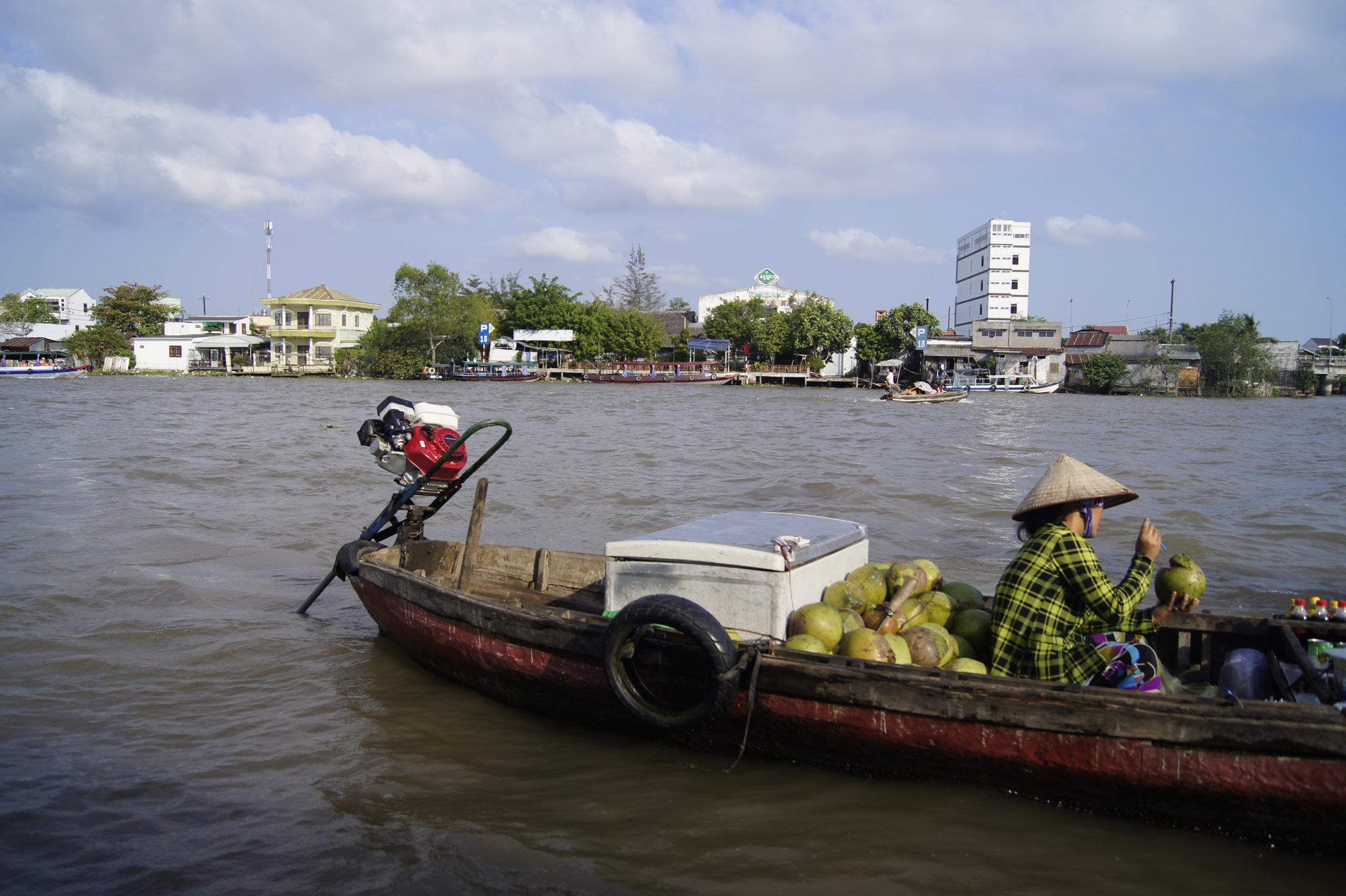 pływający targ Cai Rang Wietnam