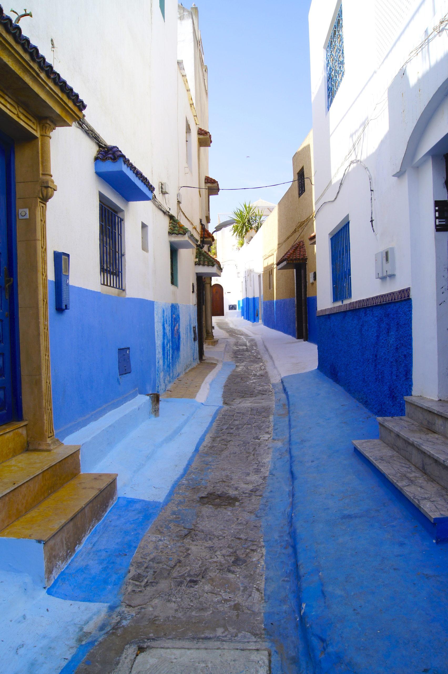 uliczki Rabatu