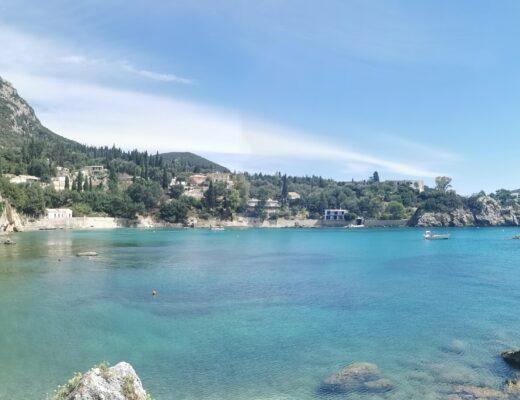 PALEOKASTRITSA na Korfu
