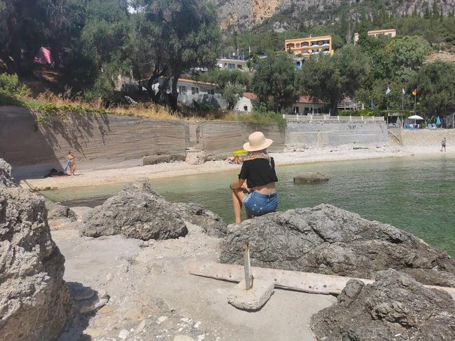 Ampelaki Beach PALEOKASTRITSA Korfu