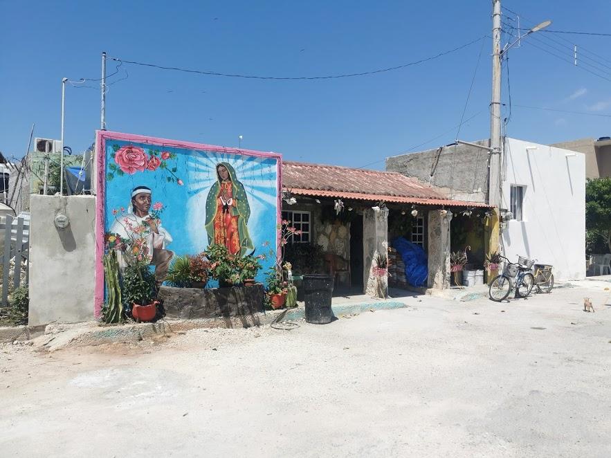 ulice Rio Lagartos
