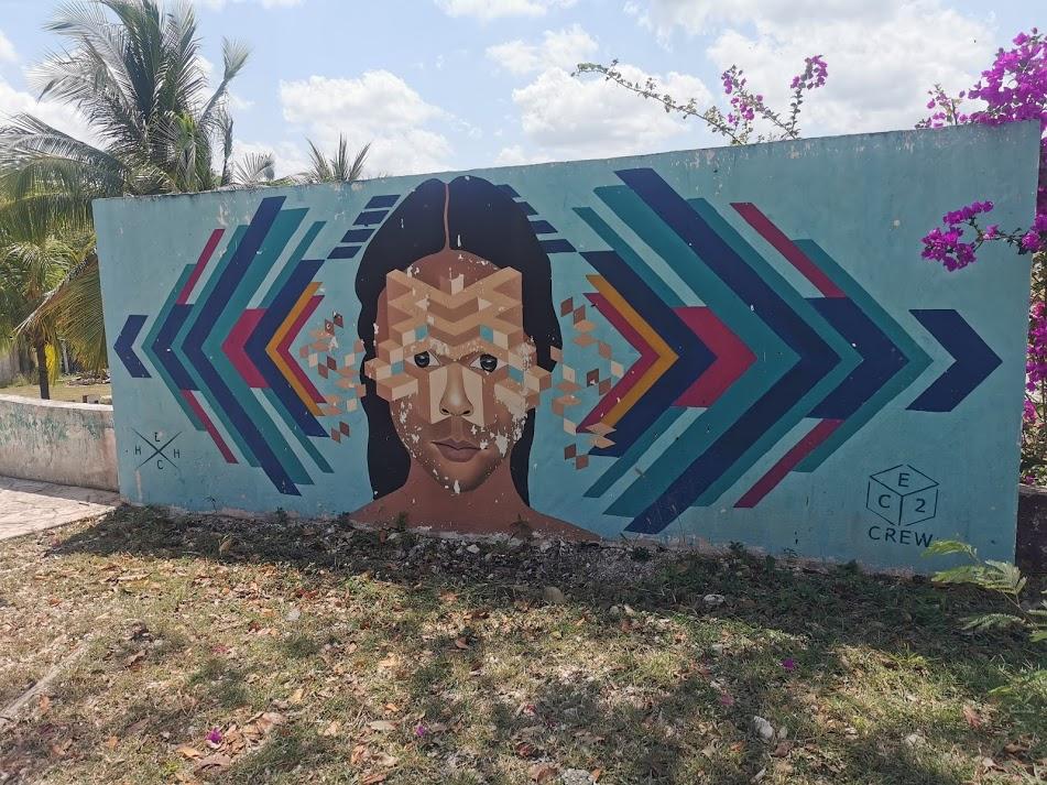 murale w Bacalar