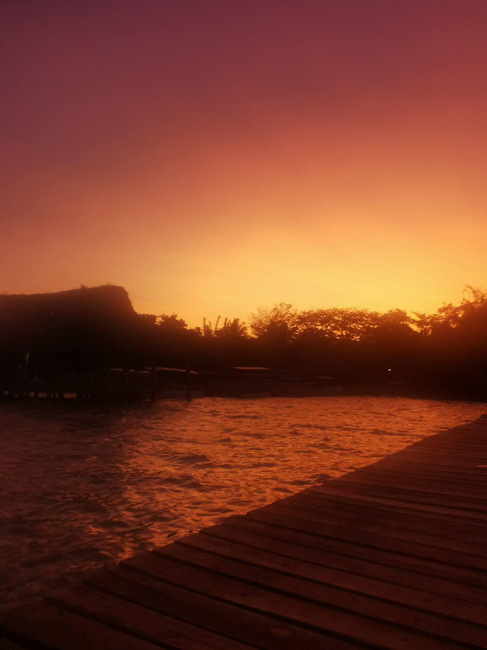 zachody słońca w Bacalar